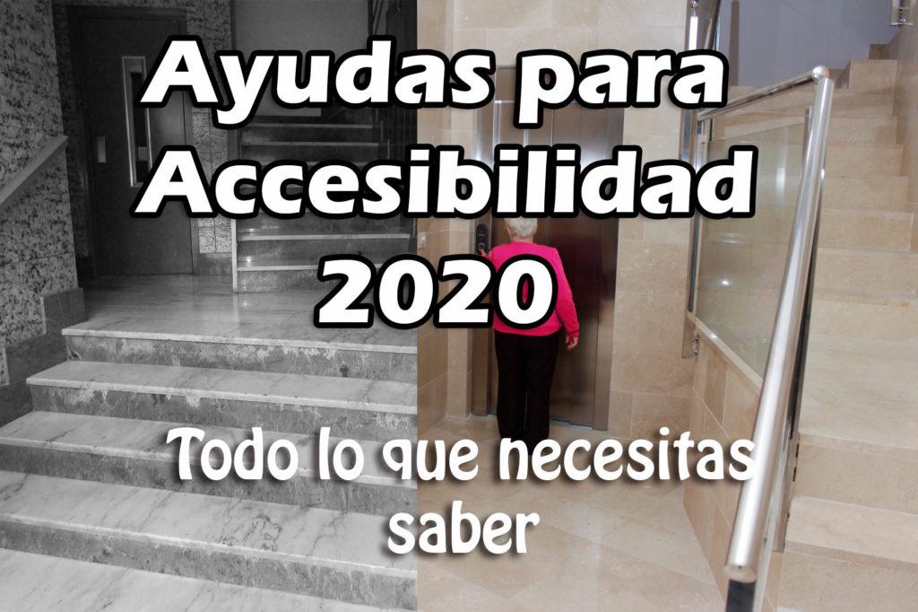 Ayudas accesibilidad 2020
